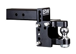 B&W Hitches 2-1/2 Inch Receiver Mount 2 Inch Ball Pintle Hook