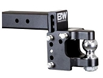 B&W Hitches 2-1/2 Inch Receiver Mount; 2-5/16 Inch Ball Pintle Hook