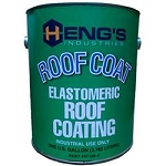 Heng's Rubber Roof Coating 1 gal. White