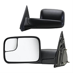 Towing Mirror, OEM Replacement, 10 Inch x 7 Inch with a 4-1/2 Inch Both Sides