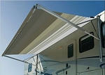 A&E Weatherpro 14ft Awning W/ Monochromatic Metal Weather Sheild
