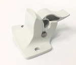 A&E Dometic Awning Polar White Bottom Mounting Bracket