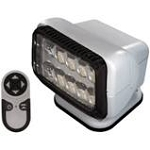 Wireless Remote RV Spotlight, Black