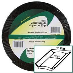 1 inch X 25 ft Deluxe Vinyl Insert Black