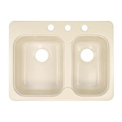 Lyons Sink Style EE Double Bowl Rectangular