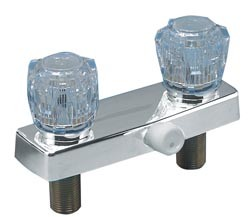 RV Two-Handle Shower Valve 4