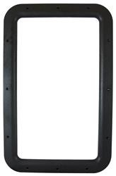 Entrance Door Window Frame Interior Black