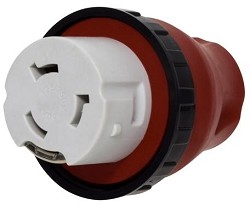 Detachable RV Adapter Plug 15 AMP M- 50 AMP Locking F