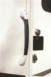 Soft Touch Assist Handle White\Gray