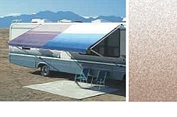 Rv Awning Vinyl Canopy Replacement, 21 ft, Camel Fade