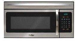 1.6 Cubic Foot, 1000 Watt, Stainless Steel Microwave