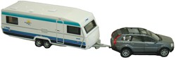 RV Die Cast Collectible SUV & Trailer