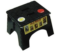 EZ-Foldz Step Stool Black