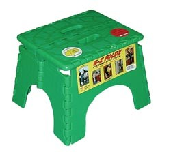 EZ-Foldz Step Stool Green