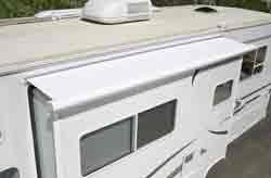 Rv Slide Out Cover Meas. Roof: 74 inch-77 inch Flange: 79 inch-82 inch