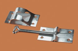Metal Entry Door Holder, Zinc
