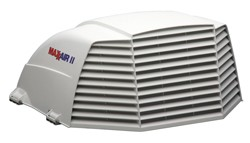 camper-Vent Cover White