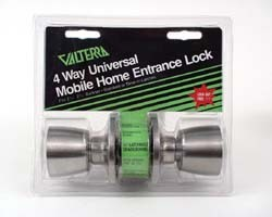 Mobile Home 4-Way Universal Entrance Lock