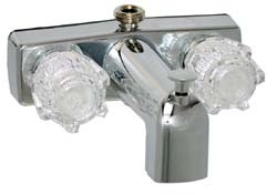 RV Tub Shower Faucet With Diverter, 4