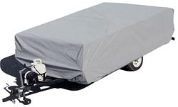 Polypropylene Folding Trailer Cover, 12' 1