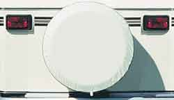 Spare Tire Cover, Polar White, Size N