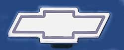 Chrome Plated Hitchbox Cover, Chevy