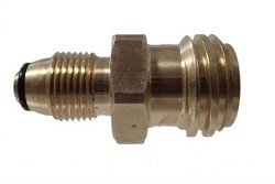 MB Sturgis 204128-MBS Propane Adapter Fitting