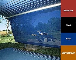 Rv Awning SunBlocker 6 ft X 10 ft, Navy