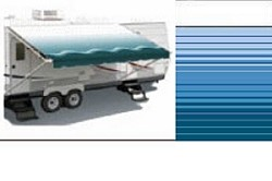 Rv Awning, Simplicity Plus Vinyl 10 ft, Ocean Blue (hardware not included)