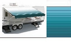 Rv Awning,Simplicity Plus Vinyl  13 ft, Teal (hardware not included)